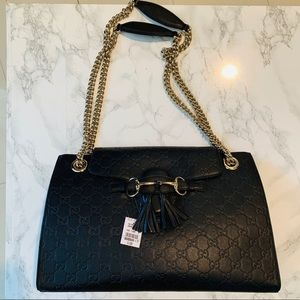 ❌SOLD❌ GUCCI Guccissima Shoulder Bag